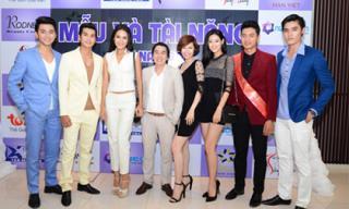 Quanh Đi, Phan Thu Quyên đẹp rạng ngời trong buổi họp báo cuộc thi Model & Talent