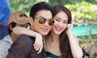 Trần Bảo Sơn quấn quýt bên Á hậu Linh Chi