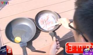 Hà Nội nắng nóng 40 độ nấu chín thịt và trứng