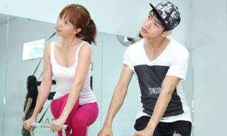 Quang Đăng nhiệt tình hỗ trợ 'tình cũ' trên sàn tập