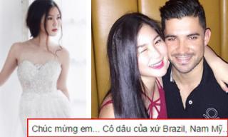 Hương Tràm sắp kết hôn với trai đẹp ngoại quốc?