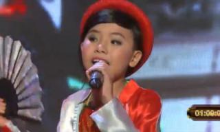 Cậu bé 13 tuổi hát giọng giả gái cực chất