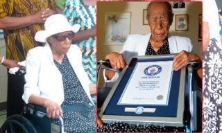 Cụ bà cao tuổi nhất thế giới được sách Kỷ lục Guinness công nhận