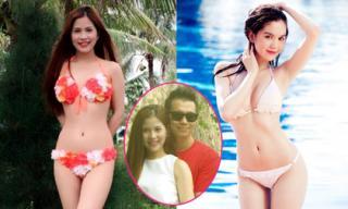 Bạn gái Việt Anh 'Chạy án' khoe dáng nuột không kém Ngọc Trinh