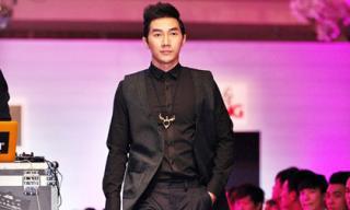 Siêu mẫu Nam Phong 'hội ngộ' đàn anh trong Đại hội mỹ Nam