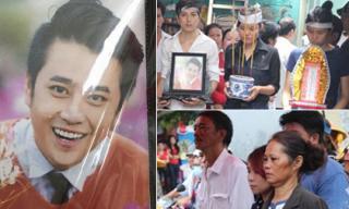 Gia đình nghẹn ngào tiễn đưa MC Quang Minh về nơi an nghỉ