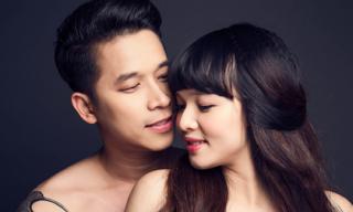 Lê Hoàng (The Men) tình tứ bên bà xã 9x lúc mang bầu