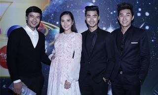 Thí sinh điển trai của Mẫu và Tài năng Việt Nam lịch lãm đi dự sự kiện