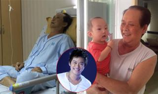 Tuấn Hưng hào hứng chia sẻ hình ảnh của bố sau khi ra viện