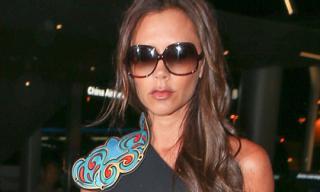 Victoria Beckham ấn tượng khi diện váy có thiết kế lạ mắt