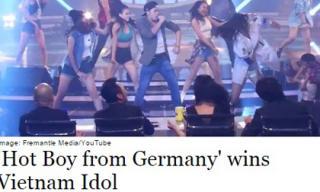 Trọng Hiếu được báo ngoại gọi là 'Hot boy đến từ nước Đức'