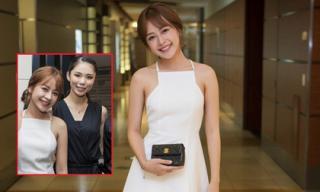Chipu diện đầm trắng sang trọng hội ngộ Hoa hậu hoàn vũ Riyo Mori