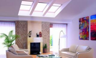 Tận dụng ánh sáng tự nhiên với thiết kế tạo cửa sổ trần nhà