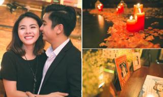 Sau lễ đính hôn Vân Trang tiết lộ màn cầu hôn lãng mạn của bạn trai