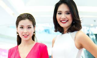 Hoa hậu Hương Giang 'mê' vẻ đẹp của Á hậu Diễm Trang