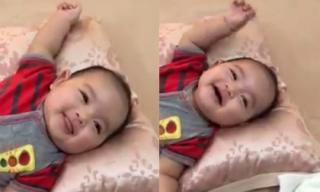 Con trai Khánh Thi đáng yêu khi hóng chuyện với mẹ