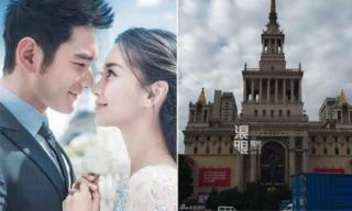 Địa điểm cưới của Huỳnh Hiểu Minh bị phong tỏa trước giờ G
