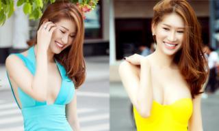 Quỳnh Thi diện street style khoe vẻ đẹp gợi cảm đầy mê hoặc
