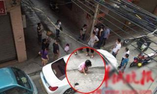 Bé gái 2 tuổi thoát chết sau khi rơi từ tầng 5