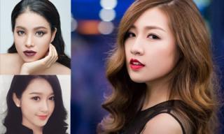 Đi tìm màu son môi hợp nhất với Hoa hậu, Á hậu Việt