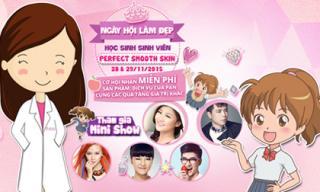 Teen háo hức tham gia ngày hội làm đẹp miễn phí tại TP.HCM
