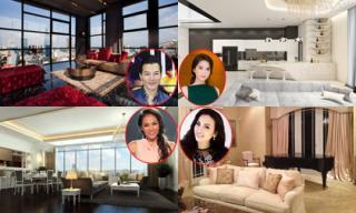 Ngắm những căn penthouse sang trọng, đắt giá của sao Việt