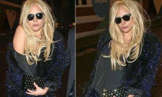 Lady Gaga đầu tóc bù xù, 'ưỡn ẹo' trên đường phố