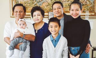 Kim Hiền tiết lộ loạt ảnh hạnh phúc đầm ấm của gia đình nội ngoại