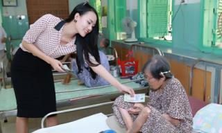 Á hậu Lâm Thùy Anh quyên góp 150 triệu làm từ thiện