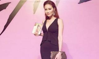 Xuân Nguyễn diện váy gợi cảm ra mắt Album Hồ Ngọc Hà