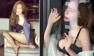 Hậu trường chụp nội y cực nóng bỏng của Elly Trần