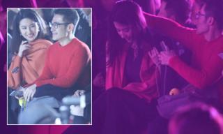 Lưu Diệc Phi thân mật với 'trai lạ' khi vắng Song Seung Hun