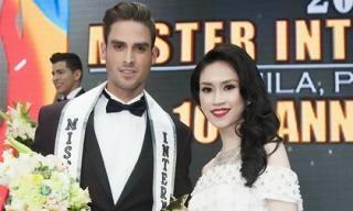 Hoa hậu Thu  Vũ đến Philipine làm giám khảo cuộc thi nhan sắc quốc tế