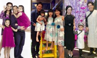Những cặp gia đình 'vàng' showbiz Việt