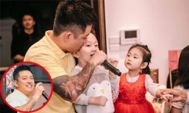Vợ chồng Tuấn Hưng tổ chức sinh nhật cho con gái trong biệt thự mới tậu