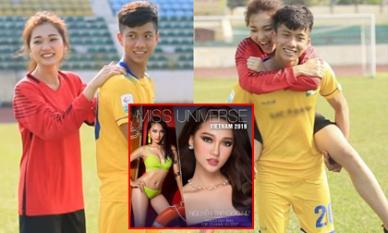 Bạn gái tin đồn của Phan Văn Đức thông báo thi Hoa hậu Hoàn Vũ Việt Nam 2019