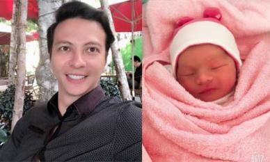 Diễn viên Dương Hoàng Anh lần đầu khoe mặt con mới sinh