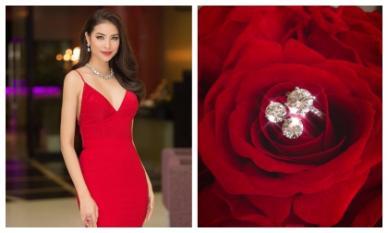 Phạm Hương đăng cả bộ trang sức kim cương lấp lánh, dân mạng nghi vấn đám cưới?