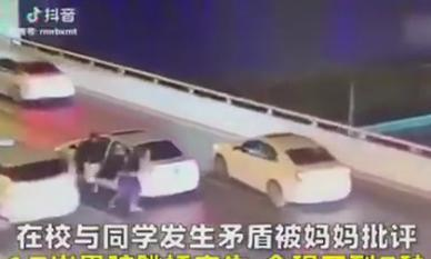 Bị mẹ mắng, nam sinh 17 tuổi lao khỏi ô tô rồi nhảy xuống cầu vượt tử vong