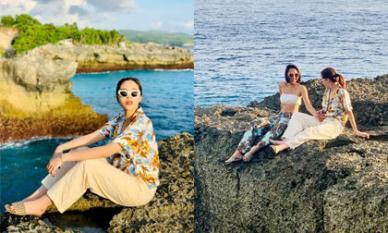 Minh Triệu và Kỳ Duyên đưa nhau đi trốn ở Bali trong dịp đặc biệt