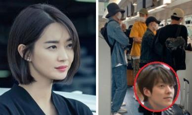 Bạn gái Shin Min Ah bận quay phim, Kim Woo Bin tranh thủ đi du hí Nhật Bản với hội bạn 'chân dài'