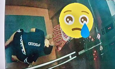 Công an vào cuộc truy tìm thanh niên có hành vi biến thái trong thang máy