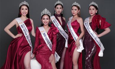 Hoa Hậu, Á hậu khoe vẻ đẹp kiêu sa sau đăng quang Miss Viet Nam World France 2019