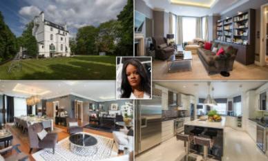Bên trong biệt thự xa hoa nơi nữ ca sĩ gợi cảm Rihanna đang thuê với giá nửa tỷ đồng/ tuần