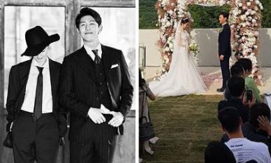 Đám cưới tài tử 'Thư ký Kim sao thế?' và vị hôn thê ngoài ngành giải trí
