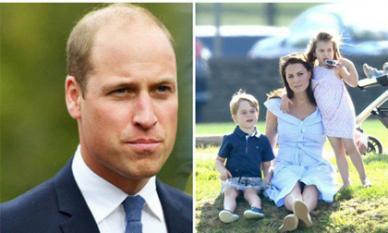 Trong thời gian Hoàng tử William phản bội, Công nương Kate từng đem 3 con về nhà mẹ đẻ