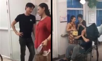 Về Nhà Đi Con: Lộ clip ông Sơn phải ngồi xe lăn và sự xuất hiện của 2 chàng rể
