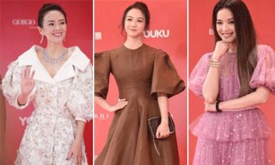 Thảm đỏ LHP quốc tế Thượng Hải: Màn đọ sắc 'gay cấn' của sao hạng A Chương Tử Di, Thư Kỳ, Thang Duy