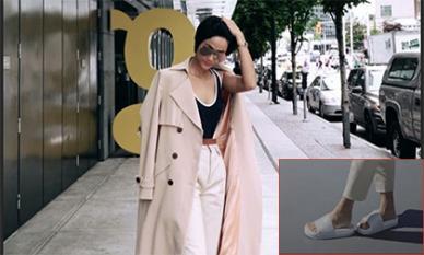 Khoe cái nhất của mình trong các Hoa hậu, H'Hen Niê còn gây thích thú với đôi dép thứ hai thay thế dép tổ ong