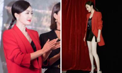'Phú Sát Hoàng hậu' Tần Lam triệt để khoe chân thon, cột tóc đuôi ngựa sáng tạo